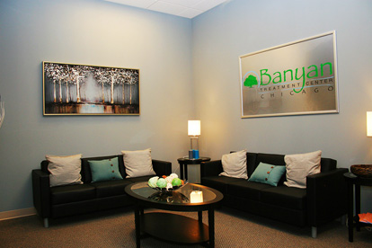 Banyan Treatment Center Chicago Waiting Room