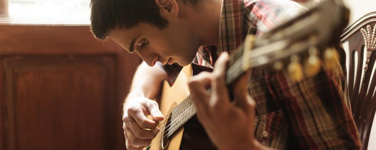 playing guitar as a hobby in recovery